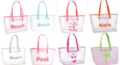 LoLo Amy Mesh Tote- Beach Bag by ThePinkPineappleShop on Etsy https://www.etsy.com/listing/197208740/lolo-amy-mesh-tote-beach-bag