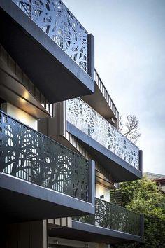 laser cut balcony screens