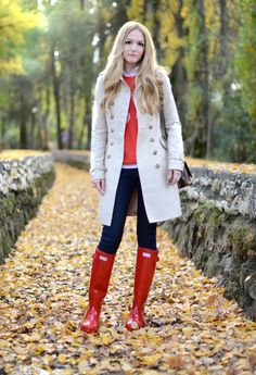 Wellie outfit
