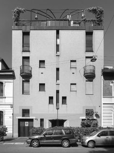 Unbelievable Modern Architecture Designs – My Life Spot Modern Architecture Design, Interior Architecture, Stirling, Aldo Rossi, Modern Masters, Facade House, Exterior, Milan Italy, Landscape