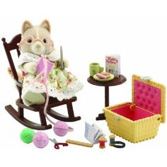 Sylvanian Families Grandmother at Home Set