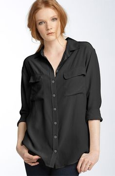 Equipment 'Signature' Silk Shirt | Nordstrom. I need this is every color!