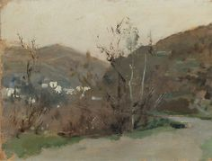 John Singer Sargent - Spanish Landscape