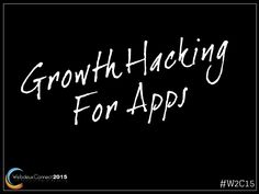 #GrowthHacking for #apps