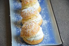 How to Make Cream Puffs ครีมพัฟ