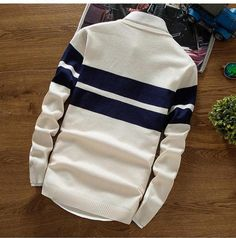 Mens Sweaters Wool Pullover Men Brand Clothing Casual O-Neck Sweater Men Dot Pattern Long Sleeve Cotton Shirt Male Sweater Fashion, Men's Fashion, Men Sweater, Sleeve Styles, Pullover, Wool, Sweatshirts, Winter, Long Sleeve