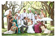 cute bridal party
