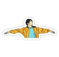 'BTS Jeon Jungkook - Euphoria ' Sticker by serendipityarts BTS Jeon Jungkook - Euphoria Sticker<br> Millions of unique designs by independent artists. Find your thing. Pop Stickers, Anime Stickers, Tumblr Stickers, Printable Stickers, Euphoria Tattoo, Bts Tattoos, Bts Shirt, Bts Face, Diy Vetement