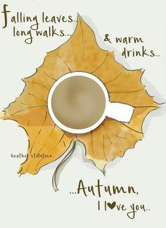 Autumn I love you...