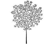 Olive Tree Stencil-- the modern Noah's Ark?