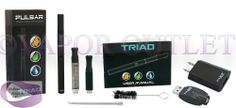 Vaporizer Outlet - Pulsar Triad 3 in 1 Vaporizer, $48.99 (http://www.endlessbargainsblvd.com/pulsar-triad-3-in-1-vaporizer/)Pulsar Triad Vaporizer Compatible With Blends, Oils, Waxes The Pulsar Triad Vaporizer is a 3-in-1 multifunction vaporizer that is big on features and small in size. It includes 3 different atomizers that can be used with either dry herbs, waxy concentrates or e-liquids. It's discreet design and small size make it the perfect vaporizer for taking a few quick puffs on the…