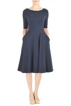 5afe329914 BGL Wool-Blend Dress   Our price   229.99 Modest Dresses