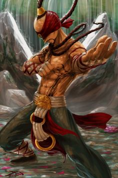 Lee Sin by Zinganza