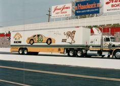 Bahari Racing Michael Waltrip hauler - 1989