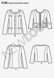 Resultado de imagen para patron chaqueta chanel