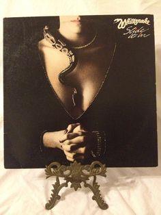 Vintage Record Whitesnake Slide It In Album GHS by FloridaFinders, $8.00