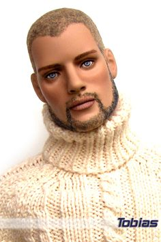OOAK Tonner Male Fashion Doll Repaint. Reminds me of Morphious on Matrix... Cant remember his real name.