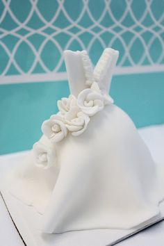 Wedding Dress Cake Toppers  Edible 5 inch by SugarAndStripesCo, $18.00