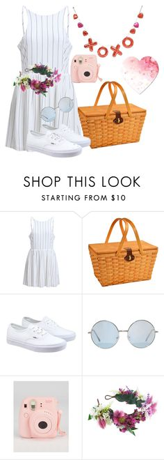 """""""Valentine's Day Picnic"""" by halster on Polyvore featuring Picnic at Ascot, Vans, Rock 'N Rose, women's clothing, women's fashion, women, female, woman, misses and juniors"""
