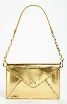 Tory Burch 'Viva Vachetti - Large' Leather Envelope Clutch available at #Nordstrom