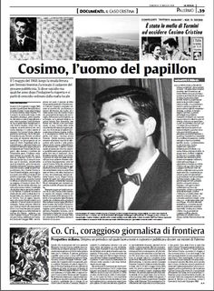 La Sicilia del 25 maggio 2008 - Cosimo Cristina