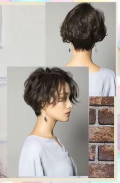 Tomboy Haircut, Short Hair Tomboy, Tomboy Hairstyles, Girl Short Hair, Short Hair Cuts, Curly Short, Feminine Short Hair, Tomboy Girl, Short Hair Model