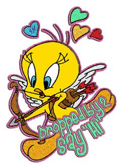 Tweety Bird Glitter Images | Tweety glitter graphics