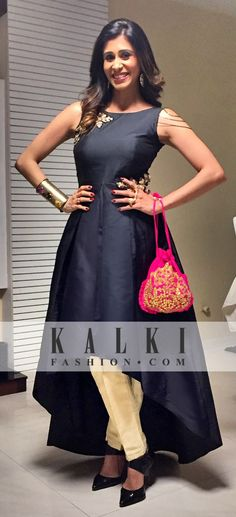 Kishwar Merchant - KALKI Peplum Lehenga Indian Gowns, Indian Attire, Indian Wear, Indian Outfits, Kurta Designs, Blouse Designs, Ethnic Dress, Indian Couture, Western Dresses