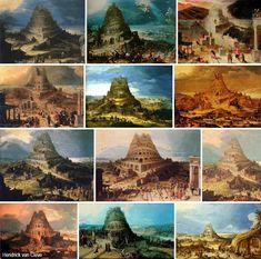 La torre di Babele, iconografia di un mito senza tempo – DidatticarteBlog.  Hendrick van Cleve (1525-1589).