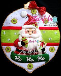 Felt Banner, Christmas Diy, Christmas Ornaments, Felt Ornaments, Santa, Lily, Holiday Decor, Crafts, Disney