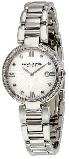 9508423390dc Raymond Weil Shine Stainless Steel Ladies Watch 1600-STS-00995  RaymondWeil