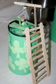 To Catch a Leprechaun! - DIY If your kids are older, you could also build your own Leprechaun trap.  Check out some of these projects for inspiration!