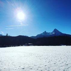 bluebird day best day ever  #bergsports #berchtesgaden #watzmann #alpen #berge #ski #travel #berchtesgadenerland #deinbayern #meinbayern #sonne  #alps #bayern #panorama #langlauf #skating #naturelovers #love #mountain #outdoor #winter #snow