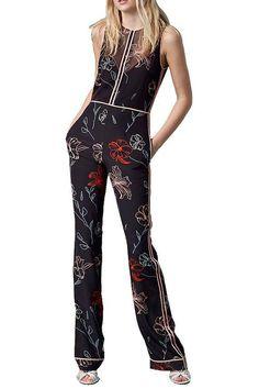 #Italist - #Diane von Furstenberg Diane Von Furstenberg Silk Suit - AdoreWe.com
