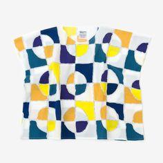 Square Tops Chizimi Cotton Kaleidoscope : SOU • SOU US Online Store