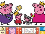 PLAY: Peppa Coloring Book to teach the difference between want vs need