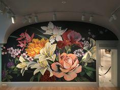Mural Art, Wall Murals, Wall Decal, Louise Jones, Mott Street, Graffiti, Garden Bugs, Institute Of Contemporary Art, Detroit Wedding