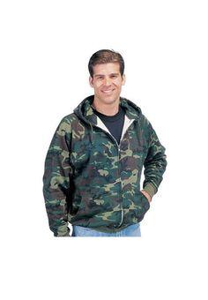 Ranger Green Hoodie Army Military Tactical Warm Headphone Port Hooded New