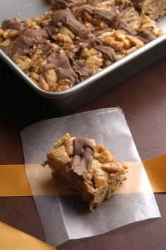 no bake peanut butter caramel bars