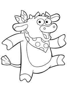 10 Cute Bull Coloring Pages For Your Toddler