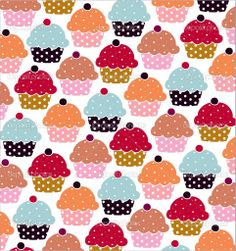 Cupcakes sweets seamless doodle vector pattern — Stock Vector #23205928