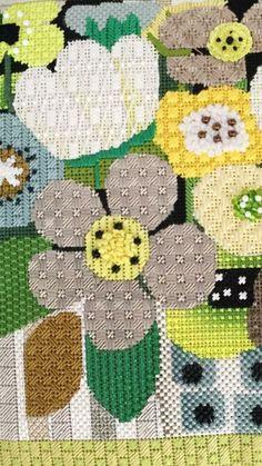 flower needlepoint, Melissa Shirley canvas