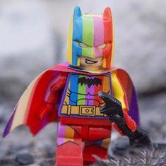 FREE Rainbow Lego Batman Figure - Welcome to Gadget Space Online Lego Batman Figures, 90s Kids, All The Colors, Pride, Gadgets, Rainbow, Colours, Space, Unique