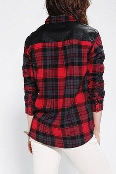 Couture flannel; put a leather patch anywhere I'm happy