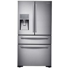 22 Cu. Ft. Counter-Depth French Door Refrigerator, Overlay Panel-Ready ...