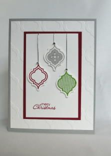 Stampin' Up!, Mosiac Madness, Christmas, Petite Pairs