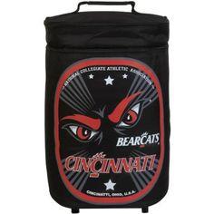 NCAA Cincinnati Bearcats Tallboy Cooler, Black