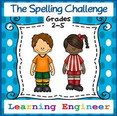 540 spelling words • 54 levels from grade 2 thru 5 • Testing pages • Teacher and Student Records • If you are looking for a hassle free spelling packet this is it! I created this packet because I wanted a way to include differentiated spelling in my curriculum without taking a lot of planning and instructional time. I give my students two packets at the beginning of the year; one for home and one for the classroom and I am done. Every student works through the packet at their own pace.$