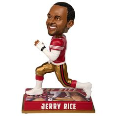 8441736a Jerry Rice (San Francisco 49ers) 2016 NFL Legends Bobble Head by Forever  Collectibles