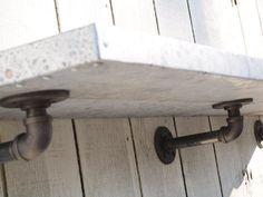 pipe shelf brackets